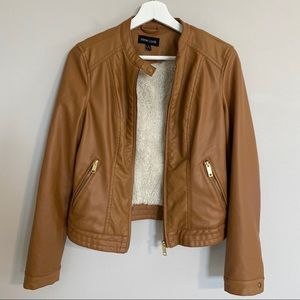New Look Faux Leather Jacket Small